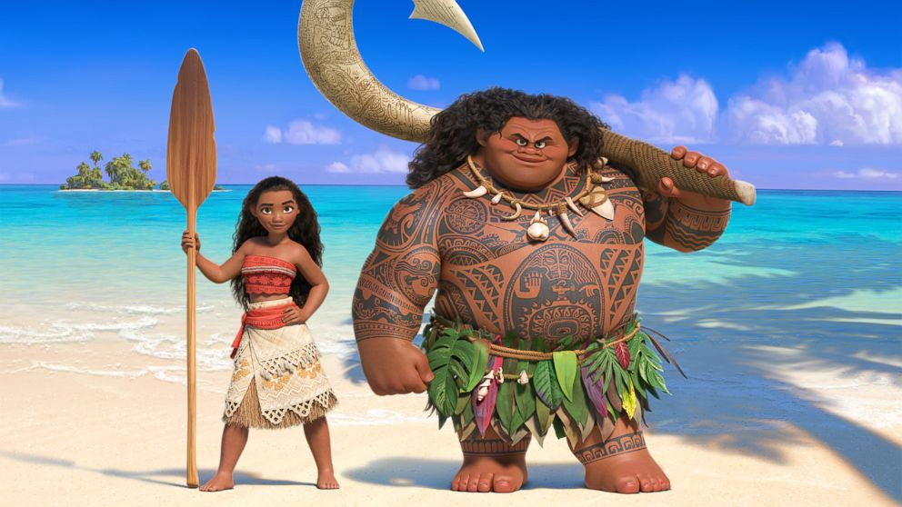 World Exclusive 1st Look at New 'Moana' Trailer With Dwayne Johnson