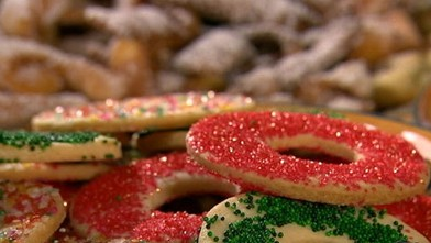 PHOTO: These cookies are perfect to give as gifts or to enjoy and eat.