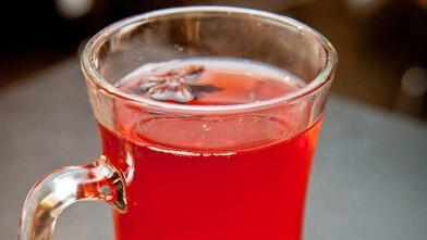 PHOTO: The red hot ruby cocktail is shown here.