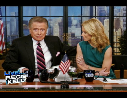 "Regis Calls Show ""Biggest Thrill of My Life"""