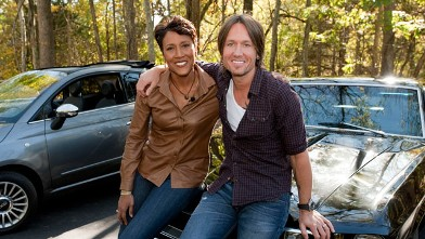 Robin Roberts goes behind the scenes and on tour with country superstars like Keith Urban for