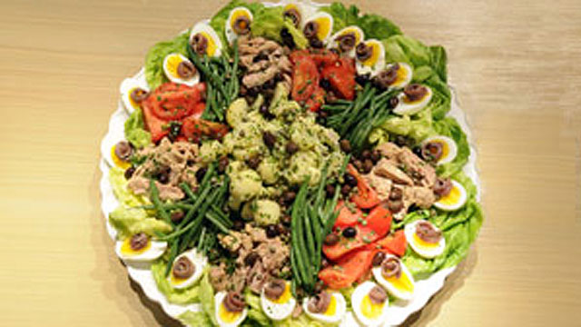 PHOTO: Julia Child's Salade Nicoise.