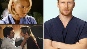 "PHOTO Surprises await viewers of ABCs ""Greys Anatomy"" before the season ends."