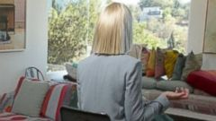 "PHOTO: Sia sits down with ABCs Chris Connelly for ""Nightline."""