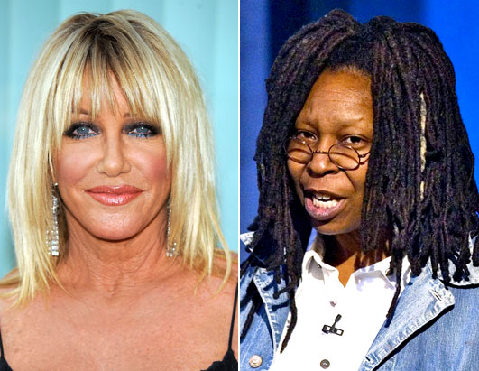 Bad Blood: Celeb Family Feuds Suzanne Somers Whoopi Goldberg