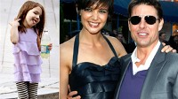 PHOTO Tom Cruise and Katie Holmes have reportedly splashed out $3.6million on their daughter?s clothes.