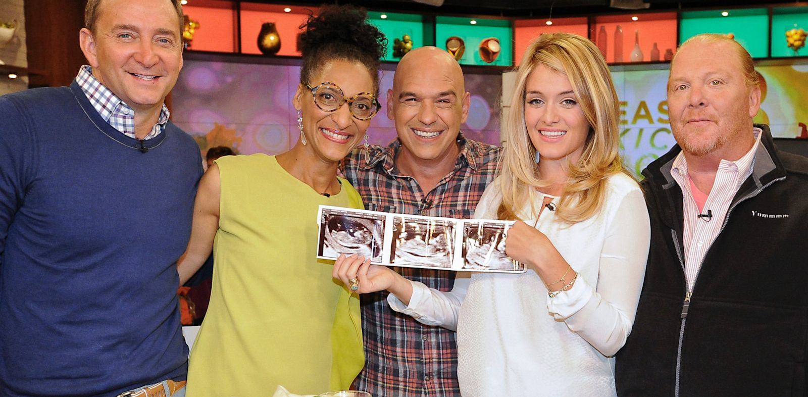 PHOTO: Daphne Oz and cast of The Chew