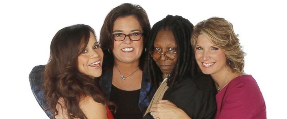 "PHOTO: Rosie Perez, left, and Nicolle Wallace, right, are the new co-hosts of ""The View,"" joining Whoopi Goldberg and Rosie ODonnell."