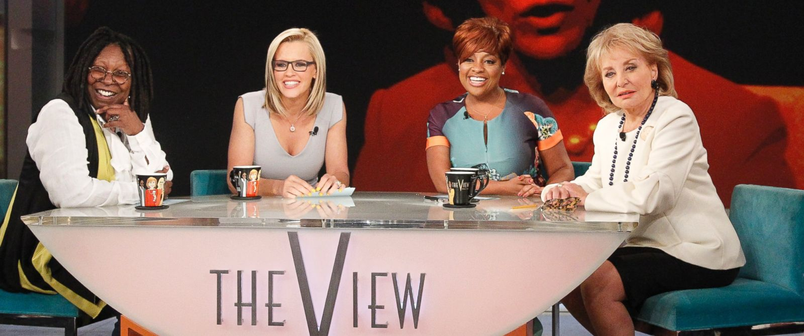 "PHOTO: Barbara Walters says farewell to live daily television with her final co-host appearance on ""The View,"" the daytime program she created for ABC (May 16, 2014)."