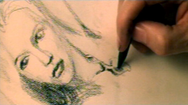 PHOTO: Shown here is a portrait sketch of Kate Winslets character Rose in the 1997 blockbuster film Titanic.