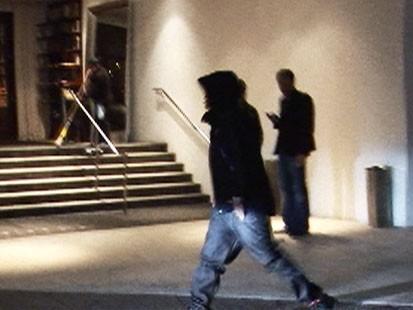 Video: Chris Brown seen outside Beverly Hills bar.