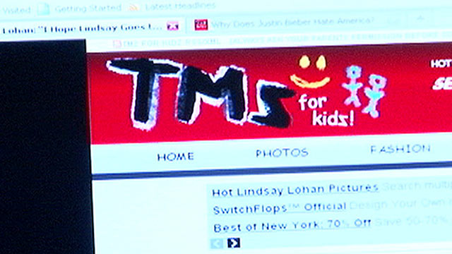 PHOTO: TMZforKidz, a site that looks like TMZ, sounds like TMZ, but actually parodies the entertainment news service has the real TMZ.com up in arms.