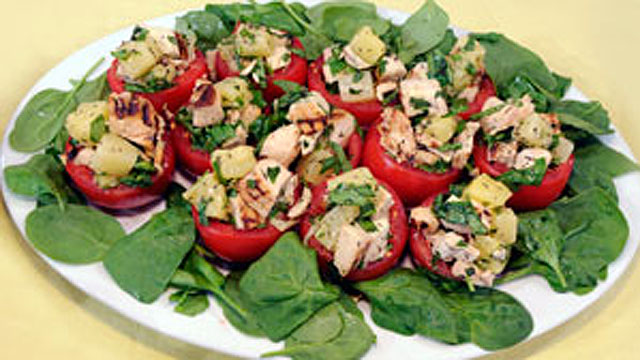 PHOTO: Tomatoes Hawaiian Chicken Salad