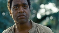 "Chiwetel Ejiofor, Michael Fassbender and Brad Pitt star in Oscar-nominated film for ""Best Picture."""