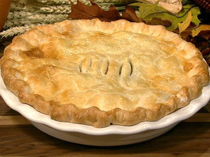 PHOTO: Carla Halls turkey pot pie rec