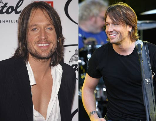 Celeb Rehab Before After. Country music star Keith Urban checked himself