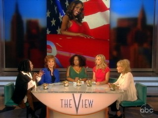 Watch: Whoopi Defends Stacey Dash's Romney Support