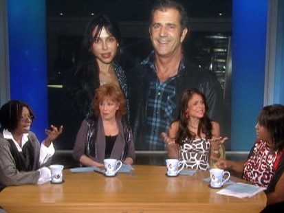 Video: The View co-host listen to the latest Mel Gibson audio tape.