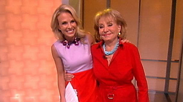 abc view hasselbeck walters kb 130710 25x14 608 Barbara Walters: Were Going to Take Our Time Replacing Elisabeth Hasselbeck
