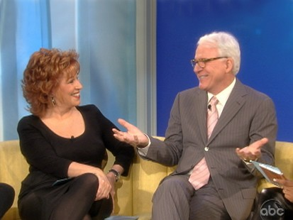 VIDEO: Steve Martin talks about David Lettermans scandal.
