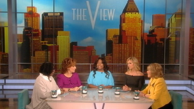 VIDEO: The co-hosts discuss The National Enquirers open casket cover image of singer.