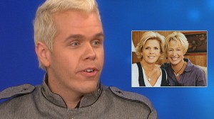 Video: Perez Hilton says Meredith was already living a gay lifestyle.