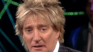 Video: View host ask rocker Rod Stewart about Adam Lambert.