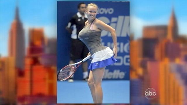 VIDEO: Caroline Wozniacki Criticized for Serena Williams Impression