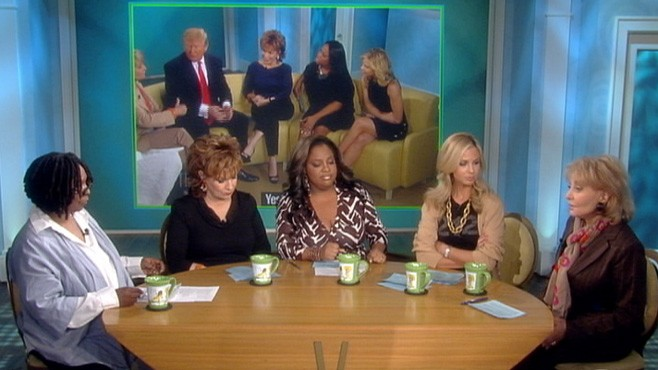 VIDEO: The ladies discuss Donald Trump's skepticism over the president's birthplace.