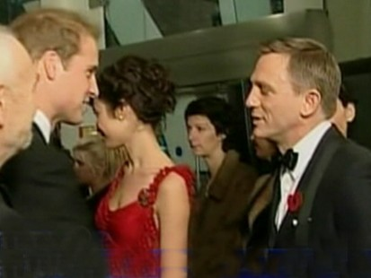 Picture of Prince William and Daniel Craig.
