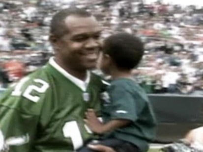 VIDEO: The 2-year-old son of Randall Cunningham drowns in a backyard hot tub.