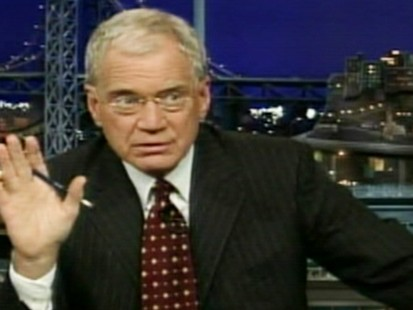 VIDEO: David Letterman apologizes to fans