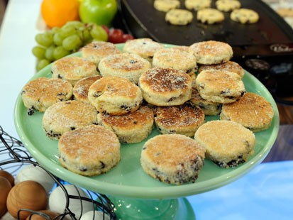 PHOTO: Ann Romneys welsh cakes recipe is shown here.