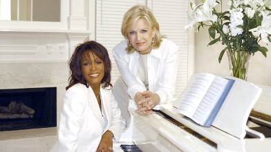 PHOTO: Whitney Houston sits down for an interview with ABC News Diane Sawyer, in her Atlanta, Ga. home, Nov. 7, 2002.
