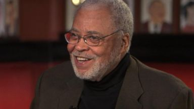 PHOTO: Award-winning actor James Earl Jones, 83, who takes the stage in the play You Cant Take it With You as Grandpa Vanderhof, said its wonderful to be back on Broadway.