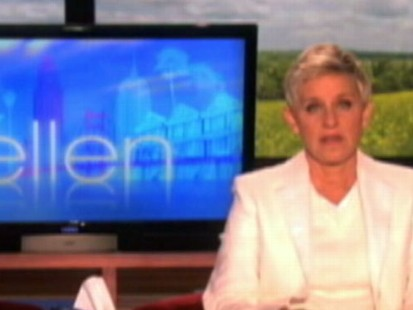 VIDEO: Ellen DeGeneres says Tyler Clementis death was a senseless result of bullying.