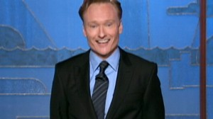 VIDEO: Conan OBrien debuts on The Tonight Show.