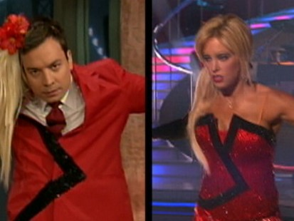 Video: Jimmy Fallon spoofs Kate Gosselin.