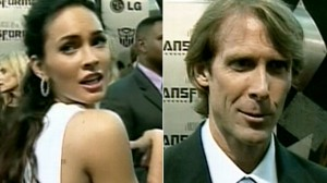 VIDEO: Megan Fox and Michael Bay argue over her comments about Transformers movie.