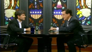 VIDEO: George Stephanopoulos appears on The Colbert Report.