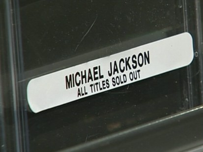 VIDEO: Sales of Michael Jacksons music soar after his death.