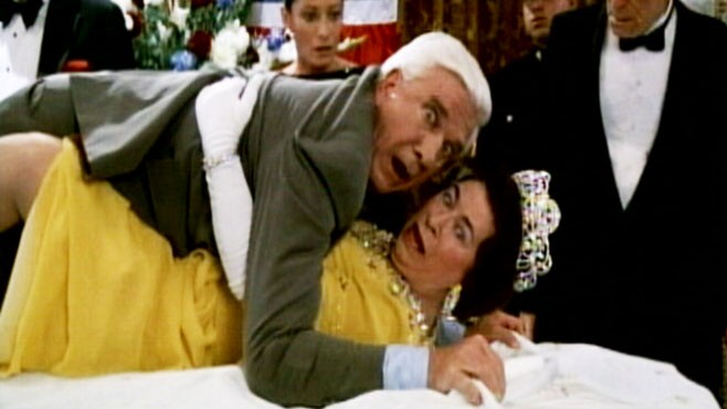 VIDEO: Actor Leslie Nielsen left behind classic comedy moments before his death at 84.