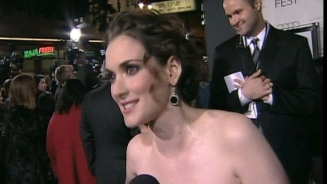 VIDEO: Winona Ryder claims that Mel Gibson made offensive remarks 15 years ago.