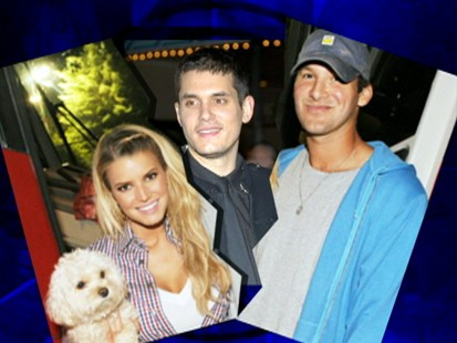 VIDEO: Did John Mayers text to Jessica Simpson lead to her break up with Tony Romo?