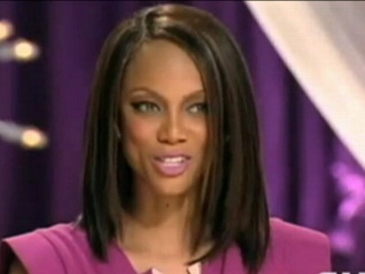 VIDEO: Tyra Banks apologizes for Americas Next Top Model promo featuring a thin model.