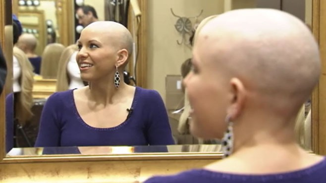 VIDEO: Suffering from a rare condition, Kayla Martell primps for Miss America pageant.