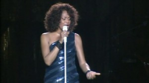 Video: Concert goers leave Whitney Houston show early.
