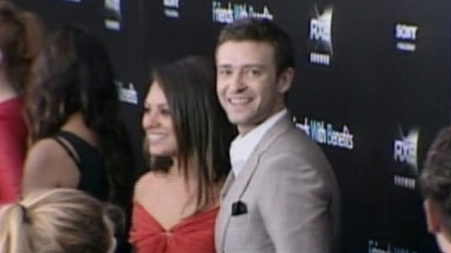 "VIDEO: ""Friends With Benefits"" co-stars deny reports of inappropriate texts and emails."