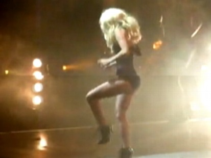 Video: Lady Gaga trips during a live concert.