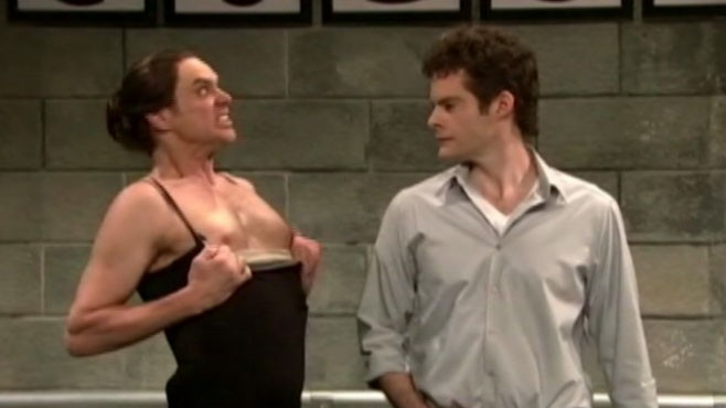 "VIDEO: Actor hosted the first ""Saturday Night Live"" episode of 2011."